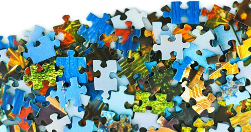 Heap of puzzle